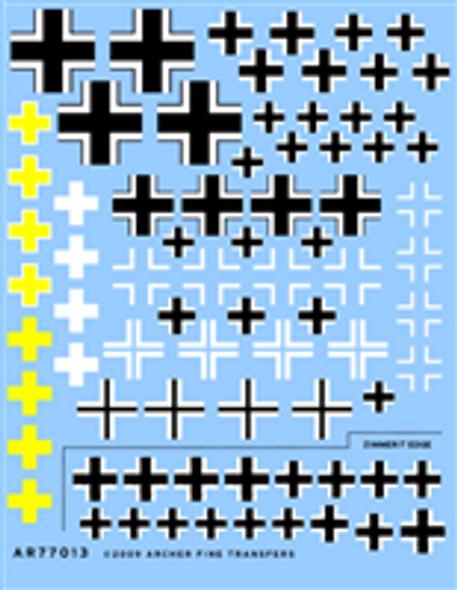 Assorted German Balkenkreuz