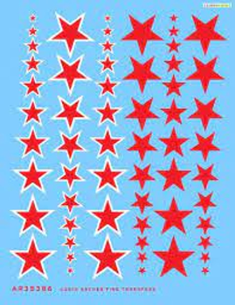 Red star insignias