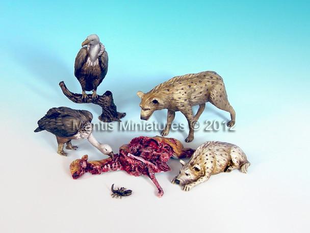 Animals Set 13 - Vultures Hyena