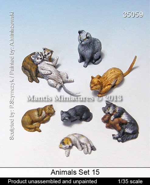 Animals Set 15 - Cats
