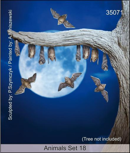 Animals Set 18 - Bats
