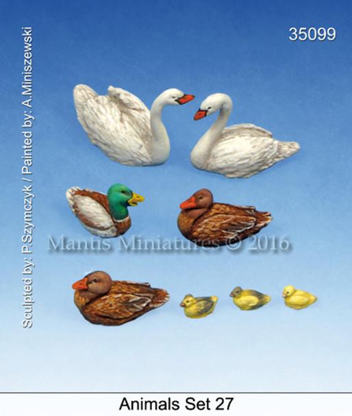 Animals Set 27 (ducks)