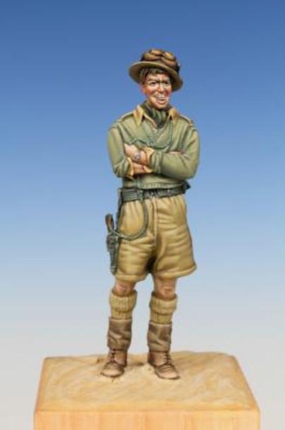 British Tank Crewman WW II Western Desert