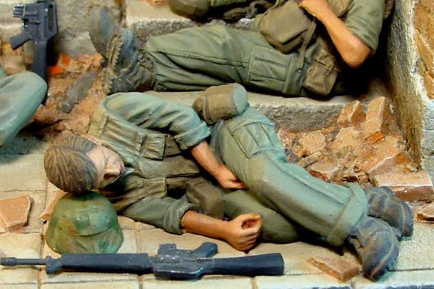Sleeping US Marine Vietnam