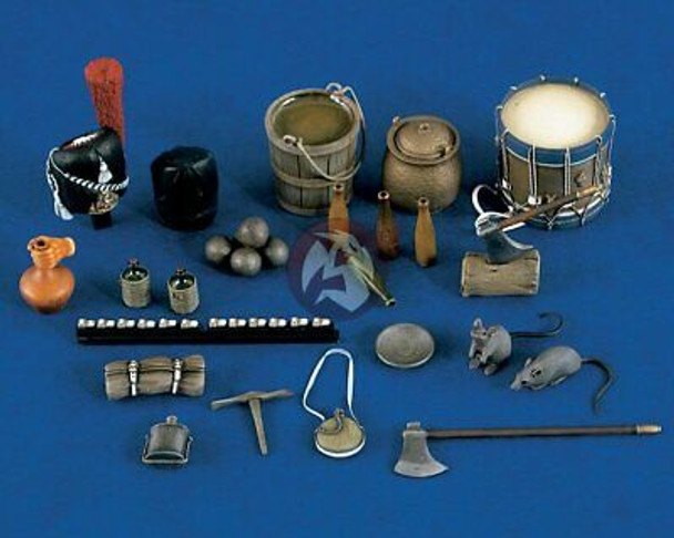 Napoleonic Field Accessories 120mm