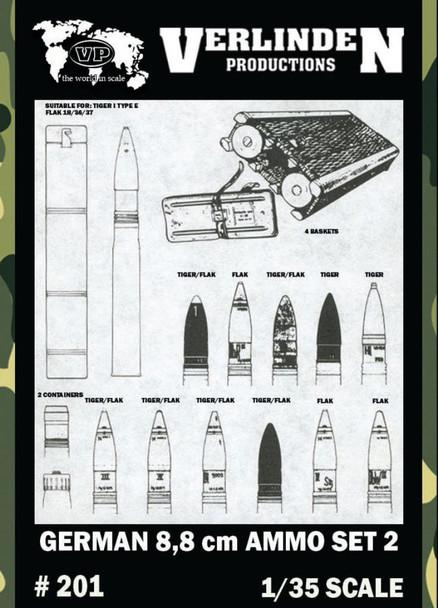 German 8.8cm Ammo Set 2