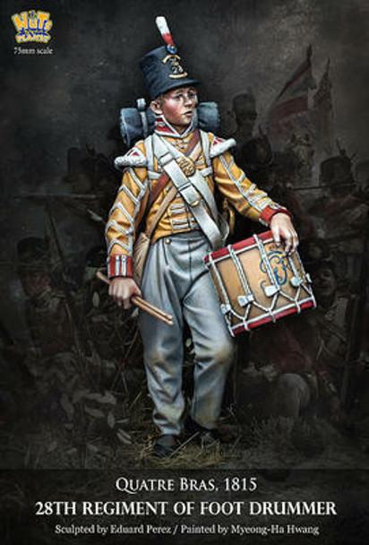 28th Reg of Foot Drummer Quatra Bras 1815