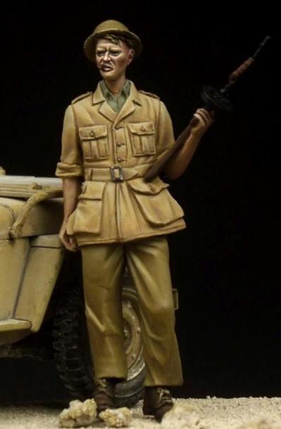 British Tommy Western Desert WW II