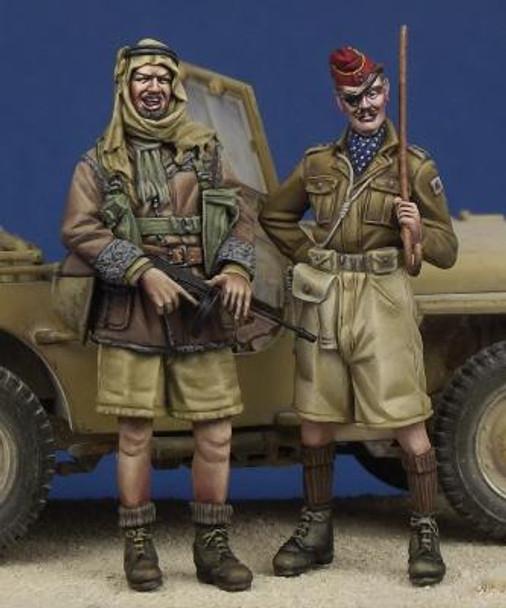 LRDG Trooper & Hussar Officer WW II