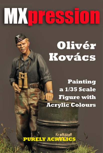 Painting a 1/35 Scale Figure with Acrylic Colours