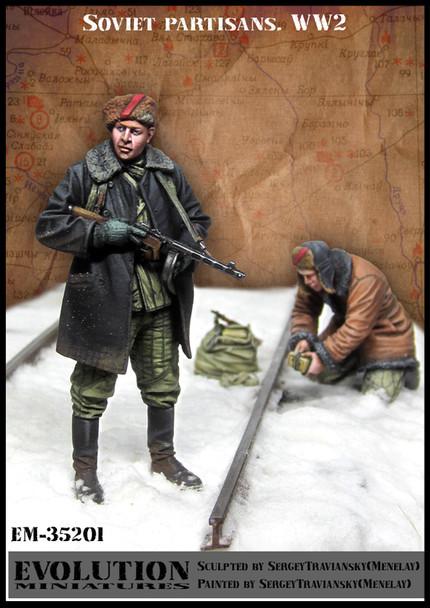 Soviet partisans. WW2