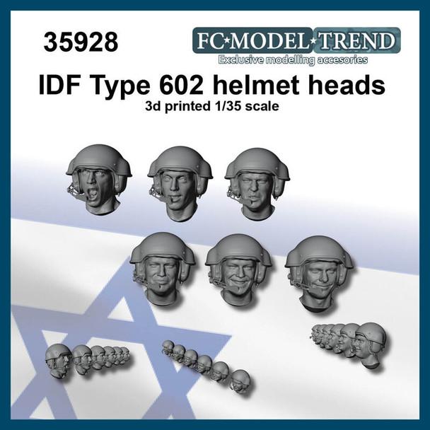 IDF Type 602 Helmet heads