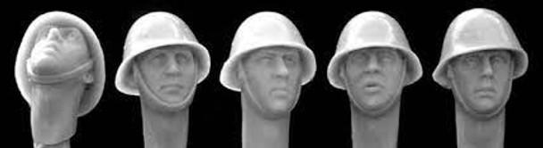 Dutch/Romanian steel helmetsWW2