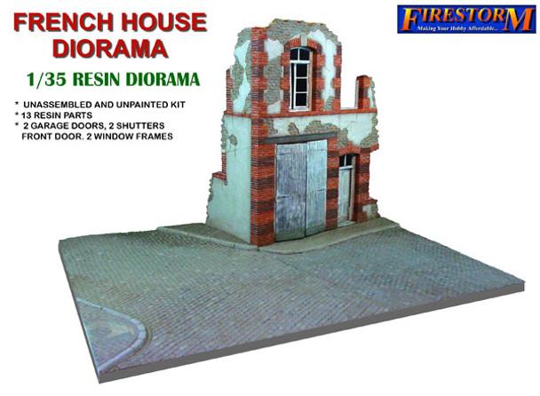 French House Diorama