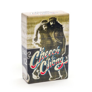 Cheech and Chong Flip Top Cigarette Case 85mm Party