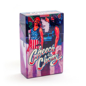 Cheech and Chong Flip Top Cigarette Case 85mm Truckin