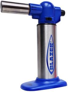 Blazer Big Buddy Turbo Torch Blue & Stainless Steel