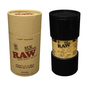RAW® - Six Shooter - King Size Variable Quantity Cone Filler