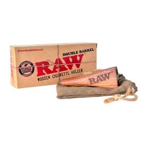 RAW Double Barrel Cigarette Holder- King Size