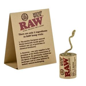Raw Hemp Wick | 10ft