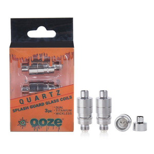 Ooze Splash Guard QUARTZ Coil