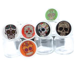 Sugar Skull Odor Proof Glass Jar