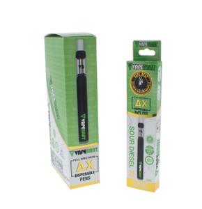 VapeBrat Disposable Delta X (Delta 10) Vape Pen: Sour Diesel 400mg (5 Pack)