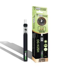 VapeBrat Delta 8 Vape Pen: OG Kush 400mg 5 Pack Display
