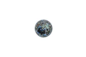 15mm Blue Galaxy Slurper Marble