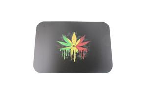 5 x 7 Rasta Leaf Rolling Tray Magnet Cover