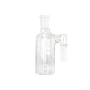 Ash Catcher with Shower Head Perc 90 Degree 14mm Male - Clear