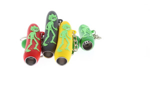 Rick & Morty Angry Rick Silicone Keychain Pipe 3 Pack
