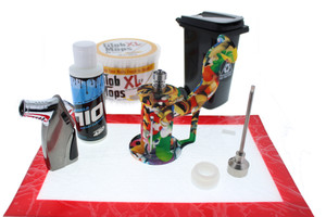 Silicone Dab Rig Waterpipe Full Dabbing Kit