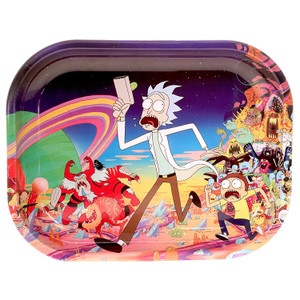 """R and M Limited Edition Rolling Tray """"Adventure"""" : 10.5"""" x 6.5"""""""