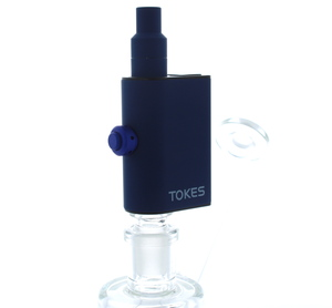 BLOtokes - Tokes Portable Dab ENail Dual Use Vaporizer Blue