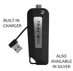 "The Vape Saber ""Keybox"" Flip Battery | 510 Thread (SILVER)"