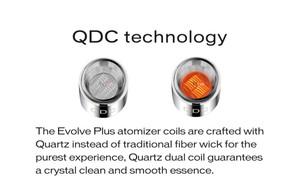 Yocan Evolve Plus Dual Quartz Coil