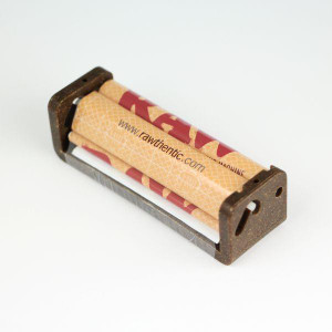 Raw Hemp Plastic Cigarette Rolling Machine 70mm Single Wide Size