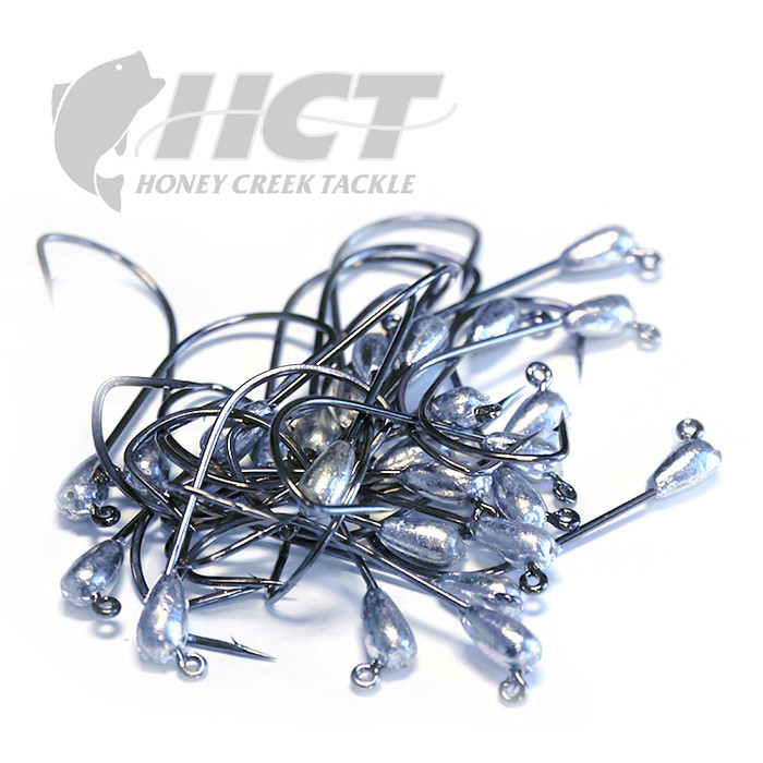 Honey Creek Tackle Stupid Tube Jig Head Bulk View