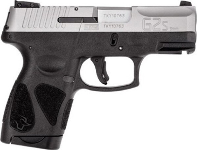 "Taurus G2s 9mm Blk/ss 3.2"""" 2/7rd"
