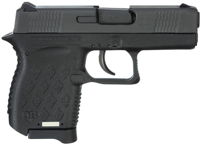 DIA DB9 9MM POLY BLK