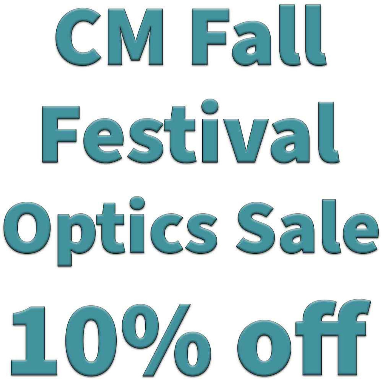 Fall Festival Optics Sale