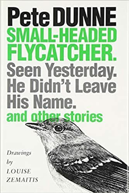 Small-Headed Flycatcher: Seen Yesterday- He Didn't Leave His Name- and Other Stories