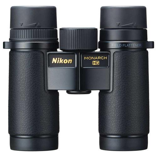 Nikon Monarch HG 8x30 front view