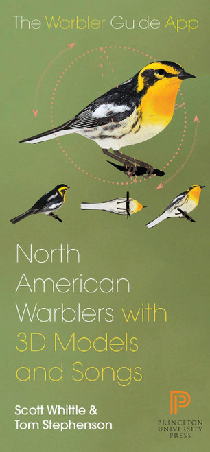 North American Warbler Fold-out Guide: Folding Pocket Guide