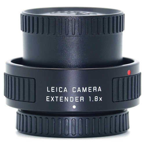 Leica 1.8x Tele-extender side view