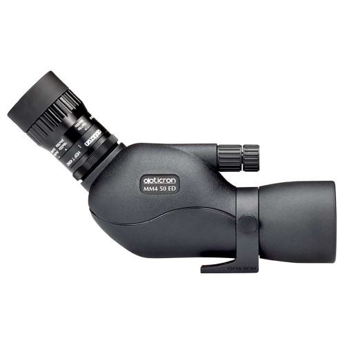 Opticron MM4 GA ED 50mm w/12-36x HDF-T side view