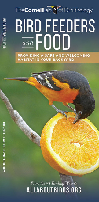 Bird Feeders And Food laminated folding info guide