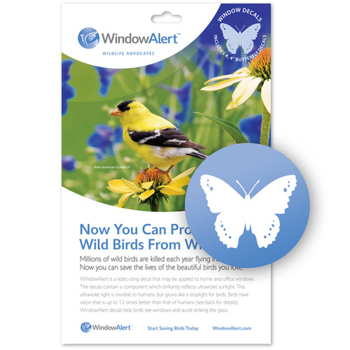 WindowAlert Butterfly Decal