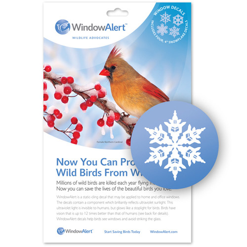 WindowAlert Snowflake Decal